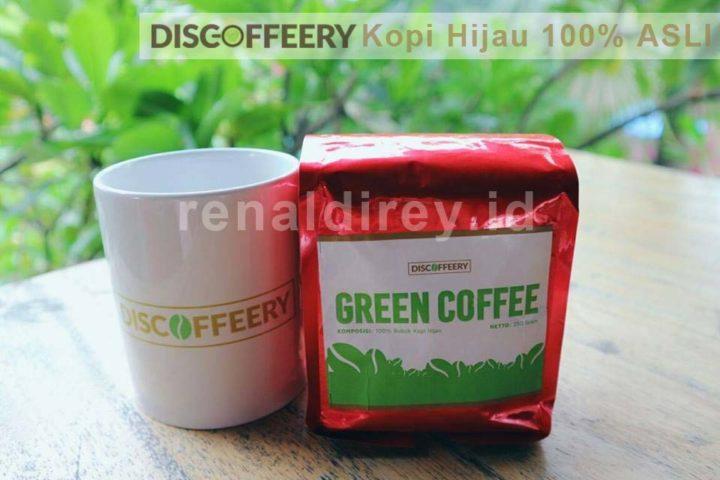 Discoffeery, Kopi Hijau 100% Asli - Ingin menurunkan berat badan? Yuk dicoba kopi hijau 100% asli dari Discoffeery. Enak dan kaya akan manfaatnya bro.