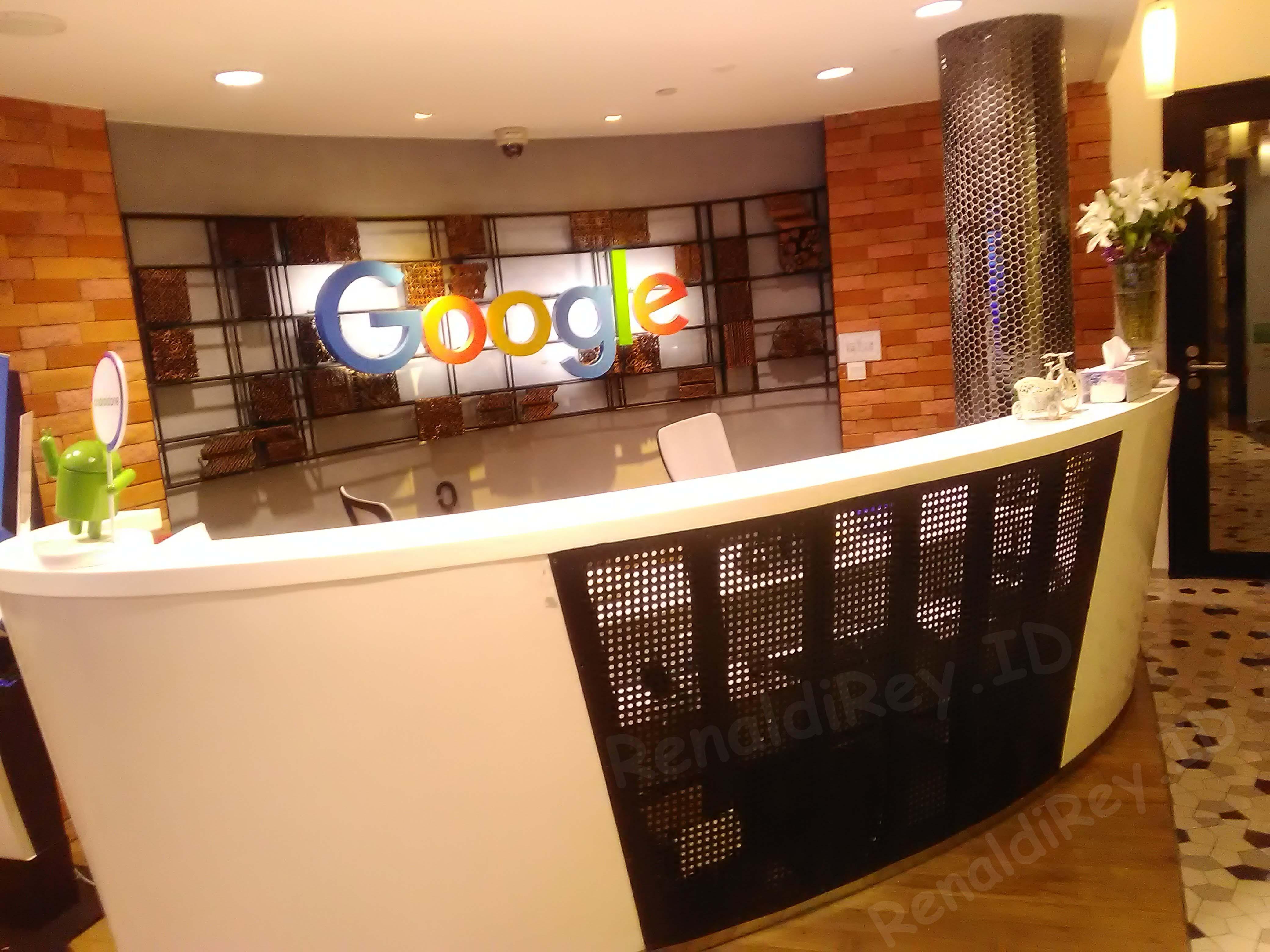 RenaldiRey.ID - Akhirnnnyyyaaa!! Gue bisa berkunjung ke Kantor Google Indoneisa