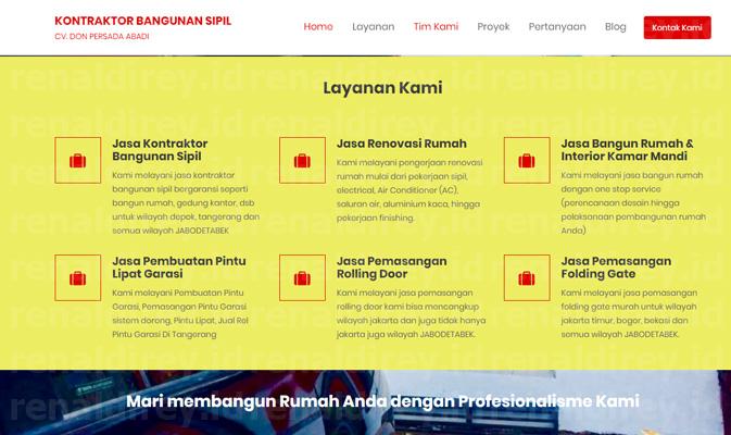 Temukan Website Jasa Kontraktor Bangunan Berkualitas Disini!!